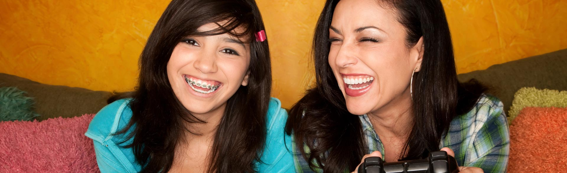 patients with braces Advanced Orthodontics
