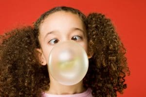 Orthodontist Dr. Barton Soper at Advanced Orthodontics explains health risks associated with chewing and swallowing gum in Bellevue WA